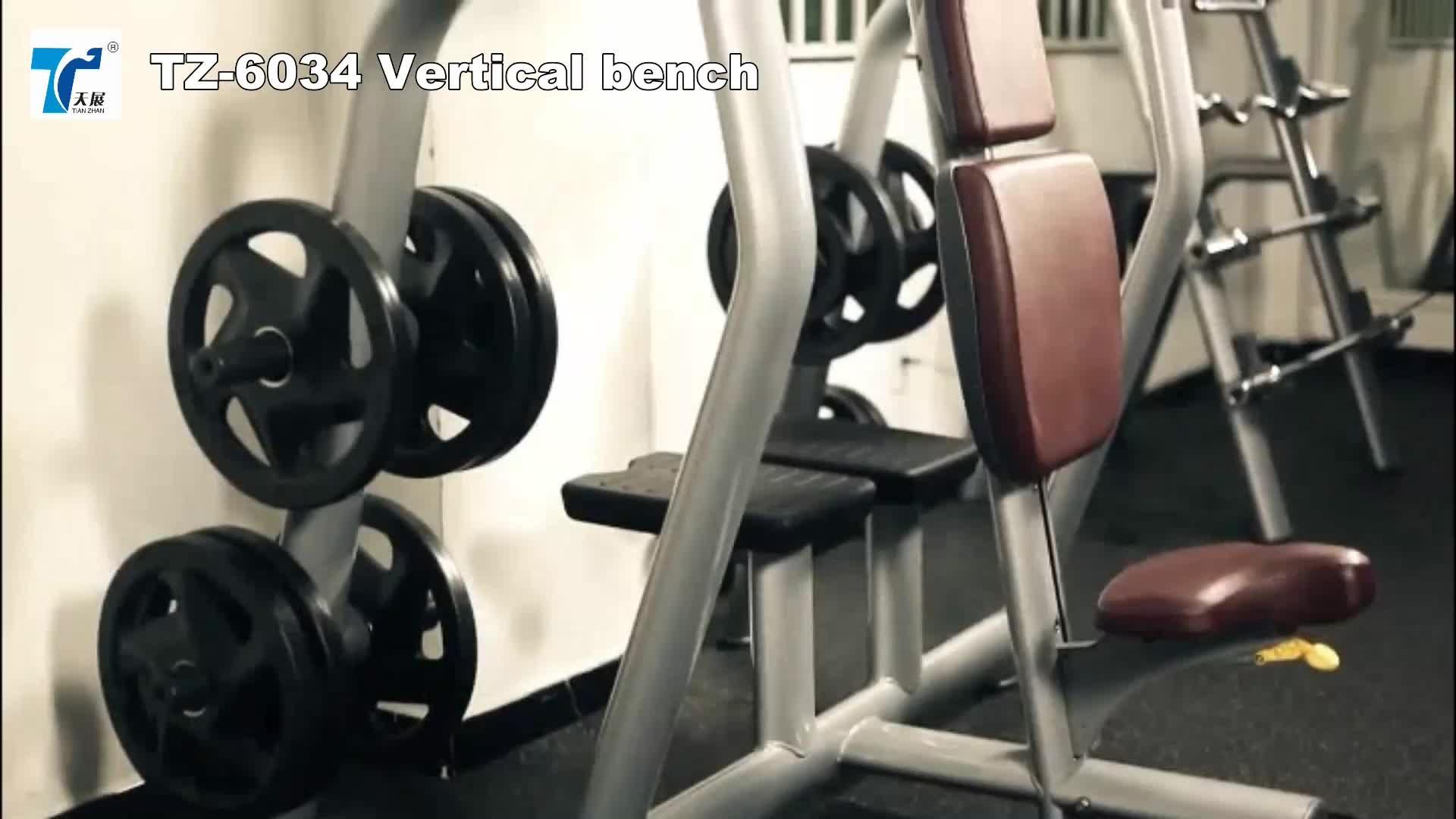 TZ-6024/gratis gewicht gym training apparatuur/halter verstelbare bench