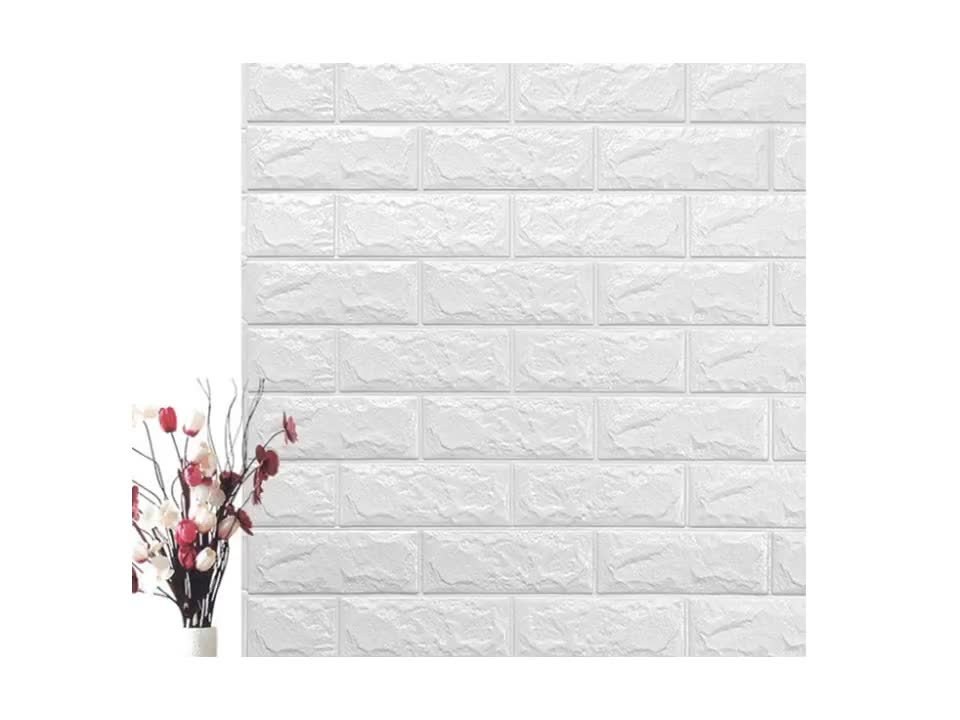 new design washable embossed waterproof removable self adhesive vinyl 3d brick stone wallpaper for cafe home decoration