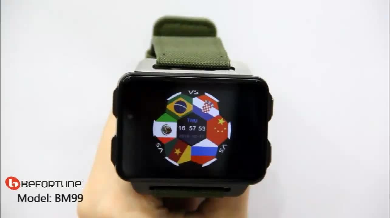 2019 LEMFO LEM4 PRO China 3G Smart Watch Mobile Phone 1200 mAh Large Battery 2.2 inch Large Screen 1GB+ 16GB Smartwatch
