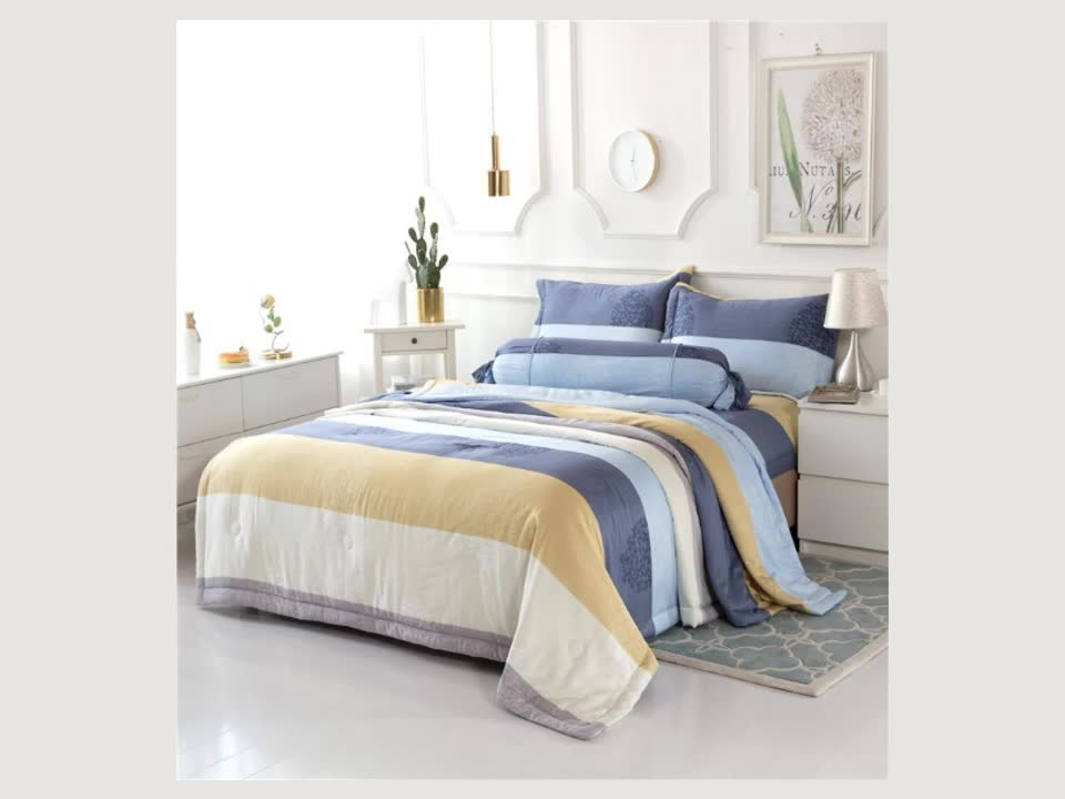 Comfortable Hand Feeling Modal Bedding Yarn Nordic Bed Fitted Sheet Bedding Set