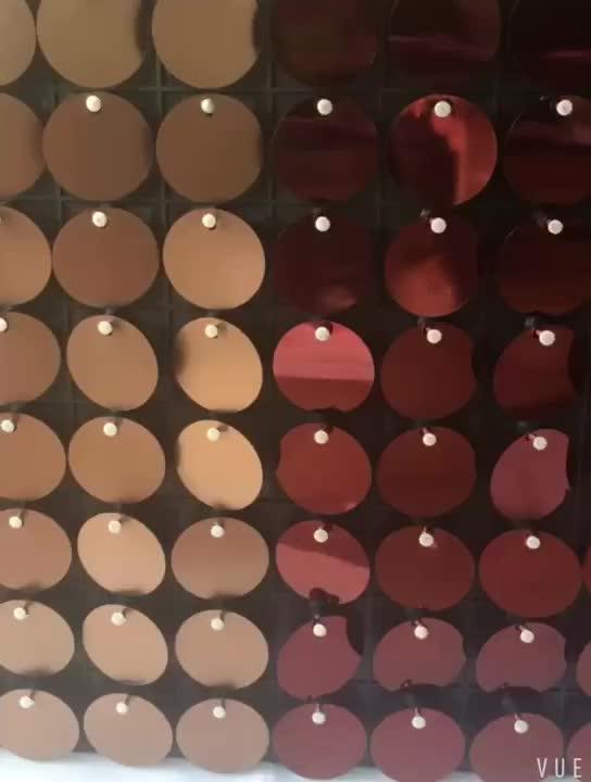 Bling panel de lentejuelas brillantes tablero publicitario para la calle increíble Glary publicidad cartelera tablero publicitario interior