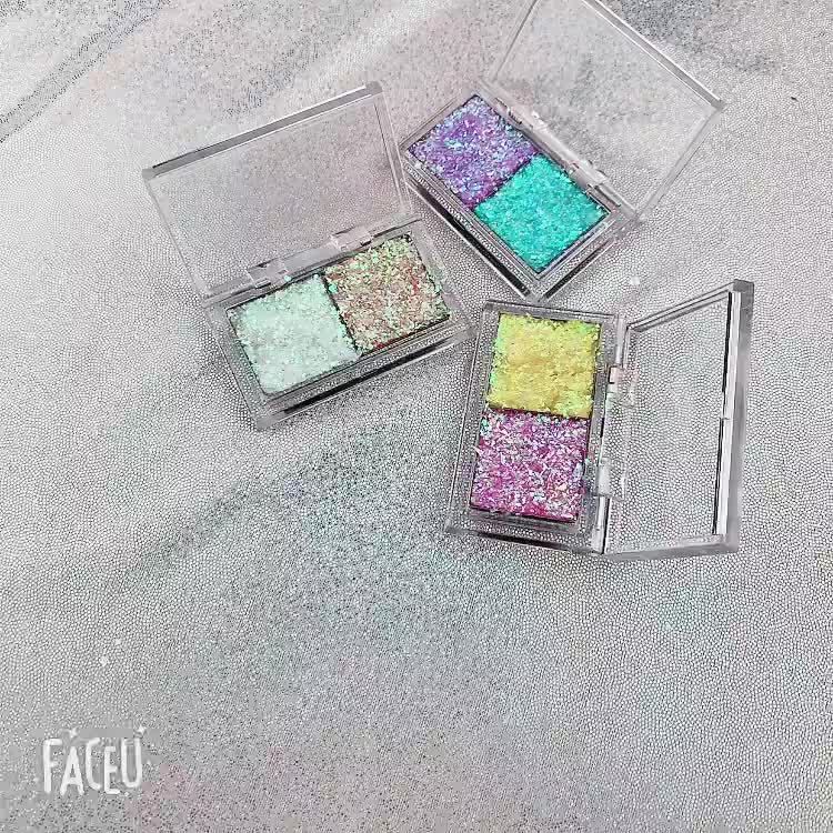 2019 Novo Designer de Forma Diferente Da Arte Decoração olho gel Lantejoulas Holográfica marcador Flocos irregulares Gel UV 3D