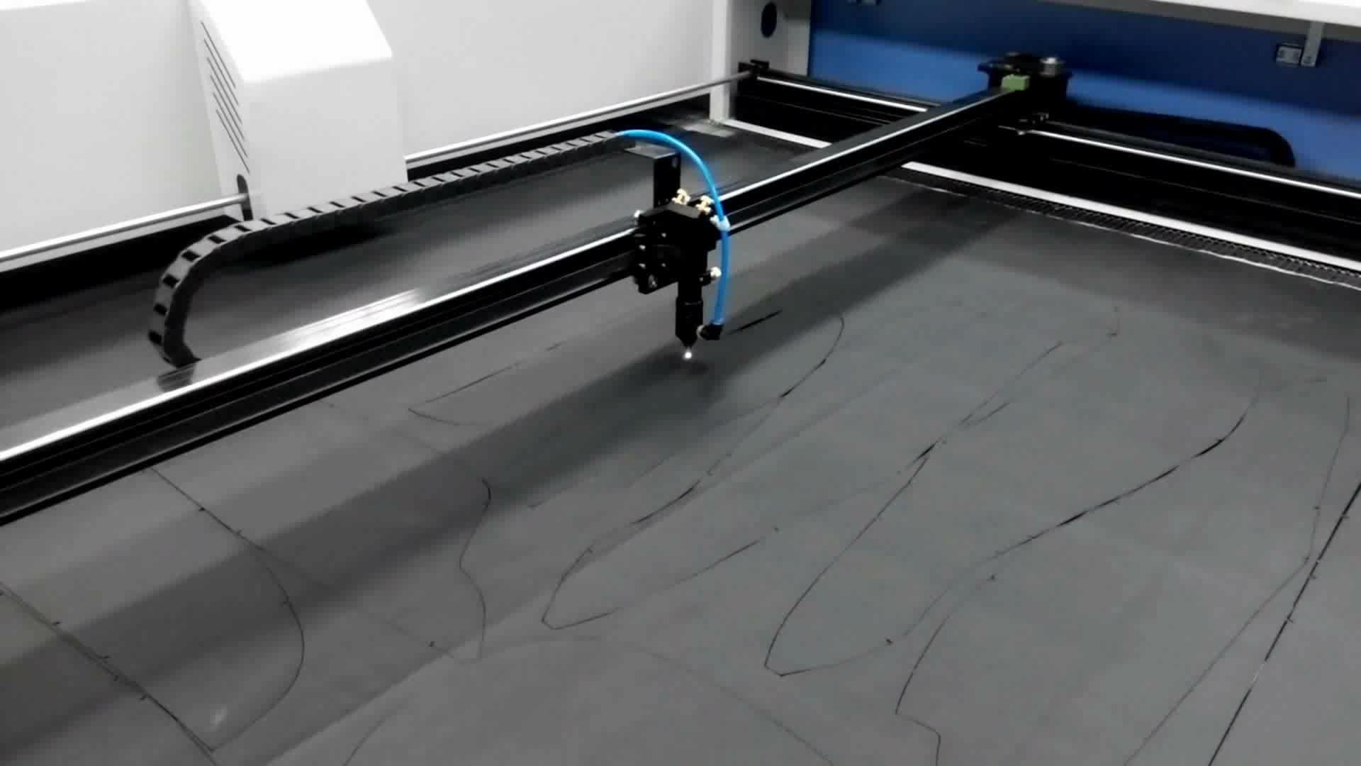 EFR 100W Laser Máy Phong Cách Mới Nhất 1300*900 Mm Bàn Làm Việc Kích Thước Cầm Tay Hỗn Hợp CO2 Máy Cắt Kim Loại