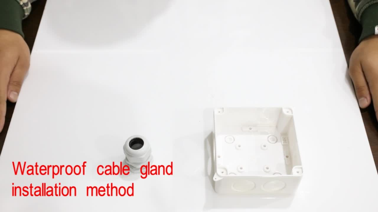 BAOTENG ip68 waterproof pg type cable gland size picture