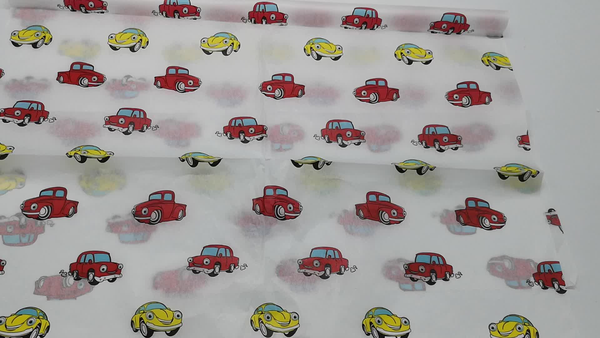 imagem de marca logotipo dos desenhos animados cor impressa papel de embrulho de papel de embrulho de natal