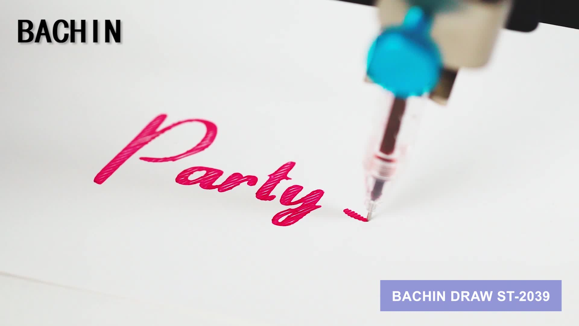 BACHIN Hot sale pen drawing robot cnc hand writing machine diy drawbot plotter for lettering/card/Invitation