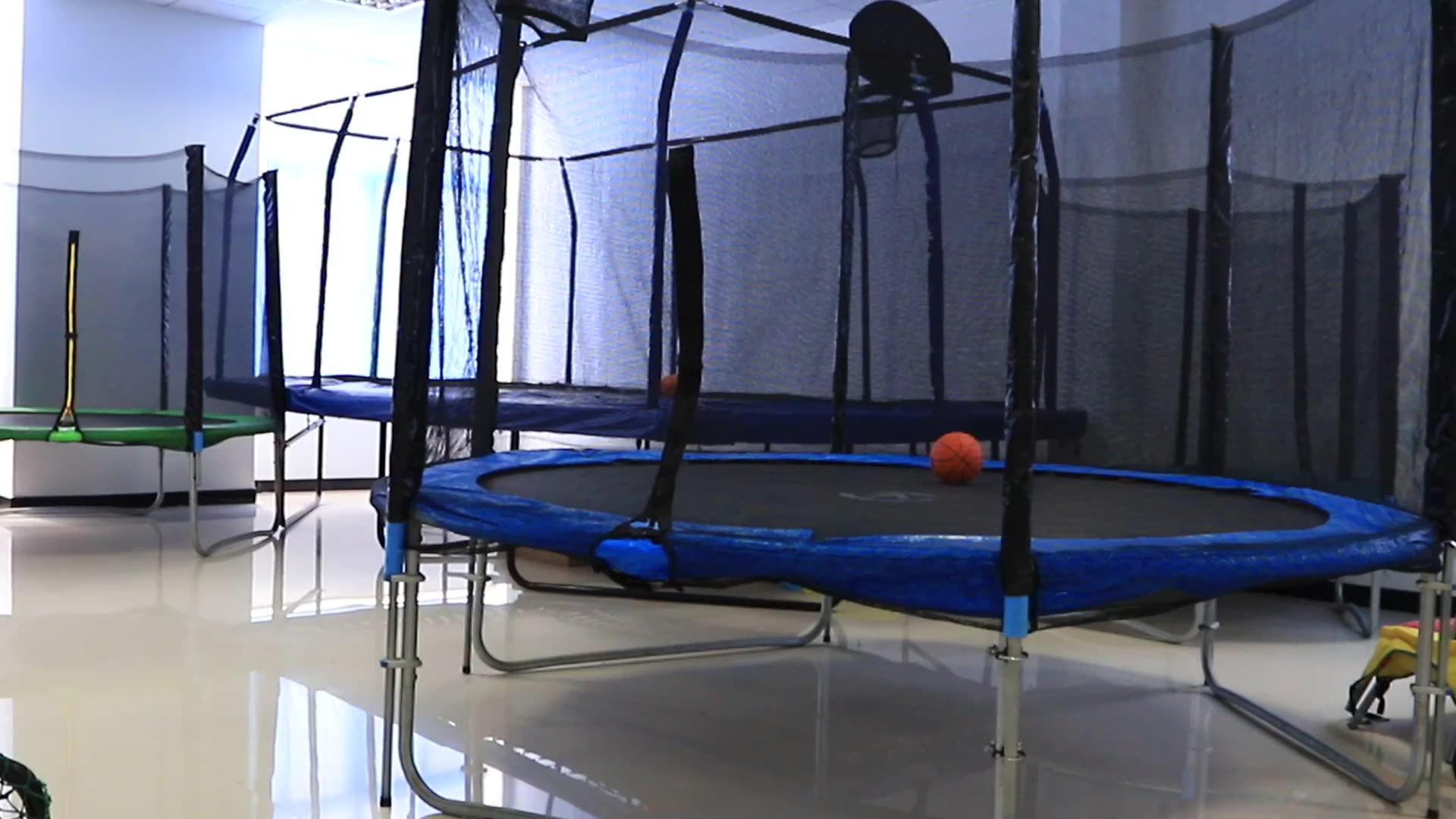 colorful trampolines indoor and outdoor 15 ft