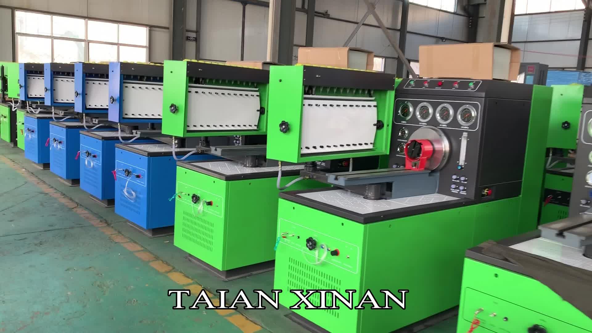 XINAN ดีเซลปั๊ม flow meter test bench ดีเซลการใช้ฉีดปั๊ม efe 515 12 กระบอก 12PSDW