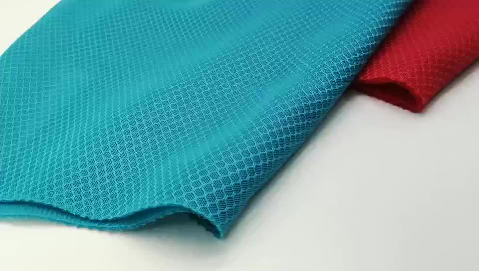 100 polyester football air layer fabric,Polyester breathable 3d mesh seat cushion