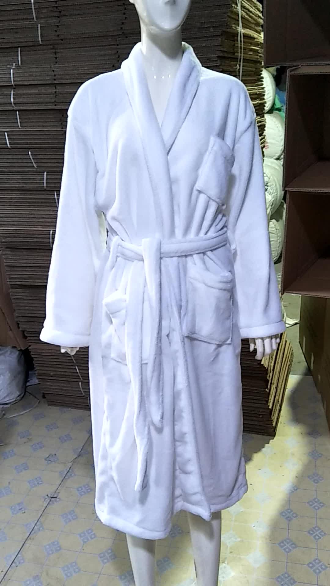Mens '5 star hotel badjas goedkope kimono badjas