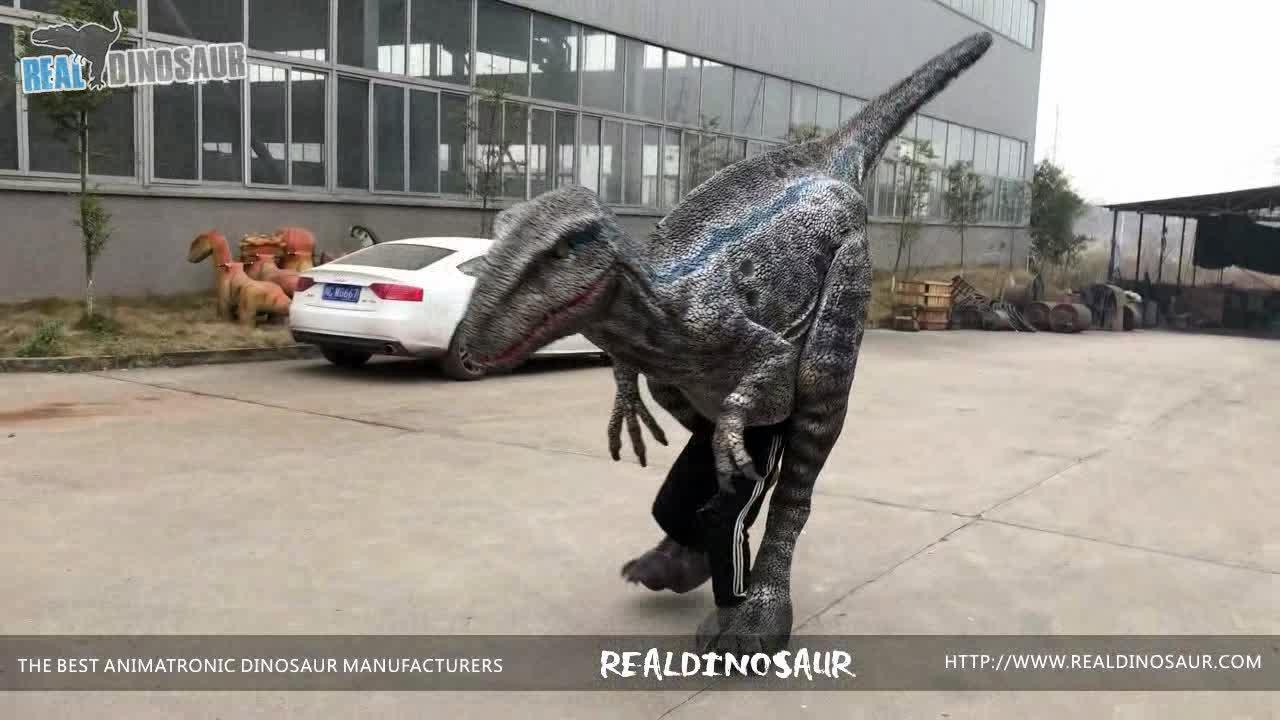 RDC0126 خفية الساقين ديناصور الدعائم زي ديناصور واقعي للبيع