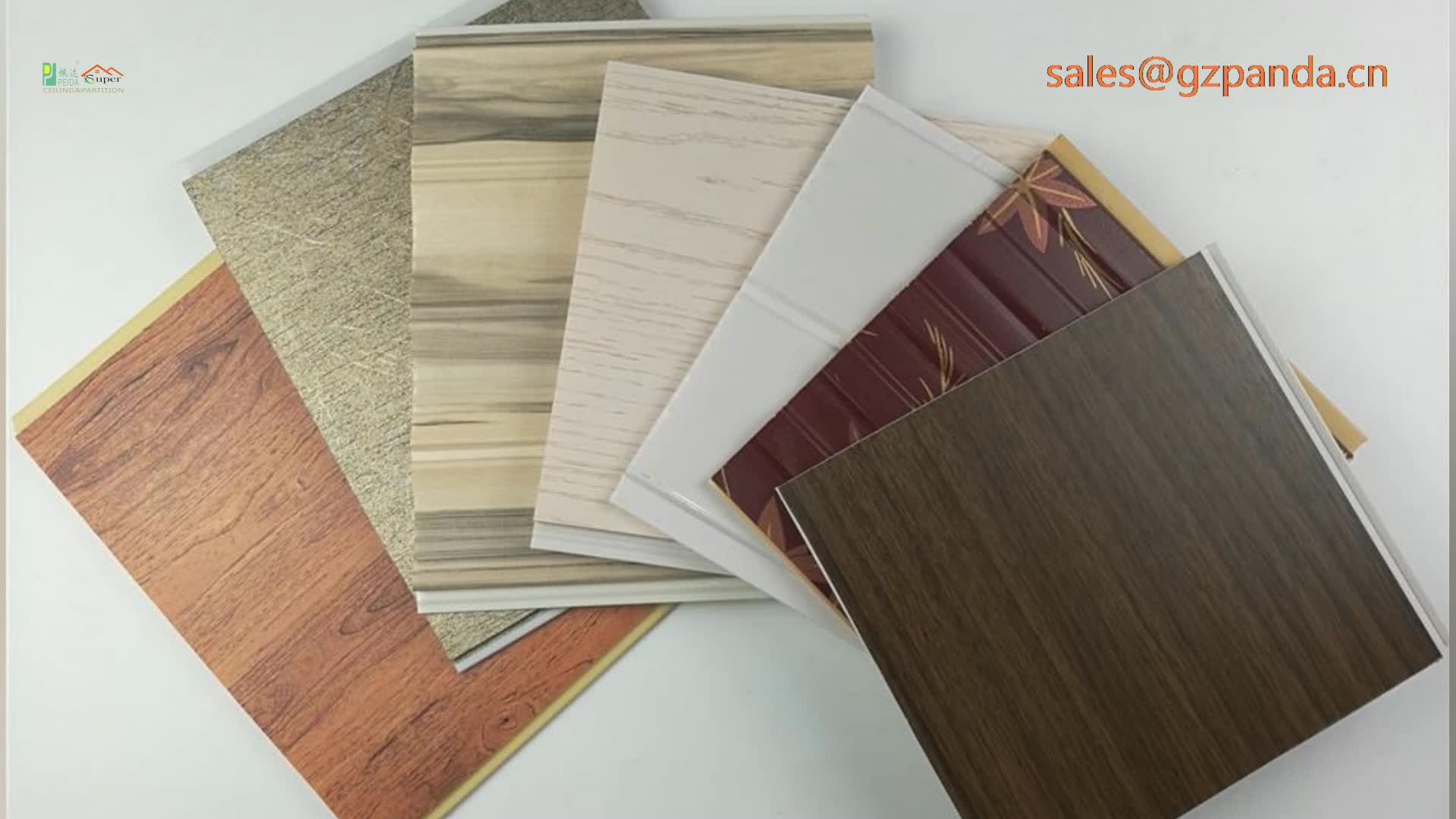 High Quality Wholesale Faux Wooden Plastic PVC Ceiling Panel