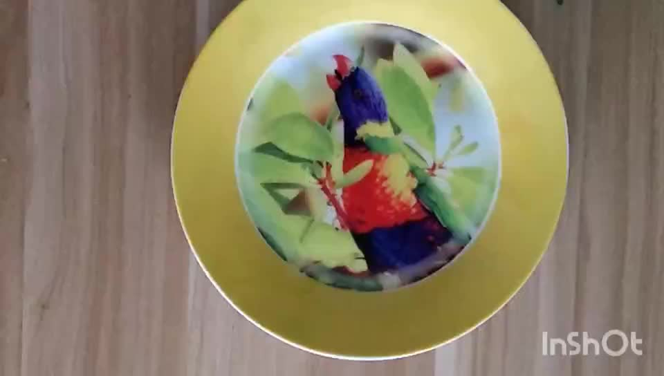 Sublimation Blank Ceramic Dinner Plate For Heat Transfer Printing