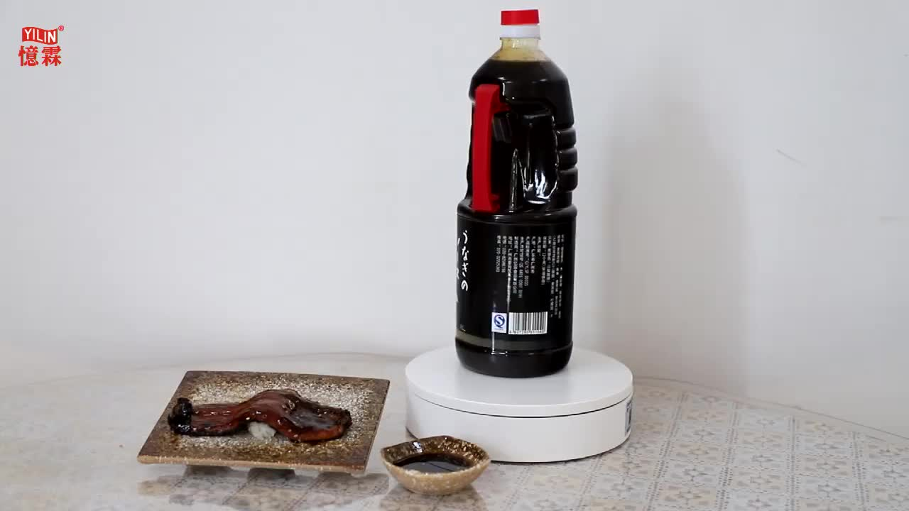 High quality Japanese superior hot style restaurant used Unagi sauce from Chinese factory