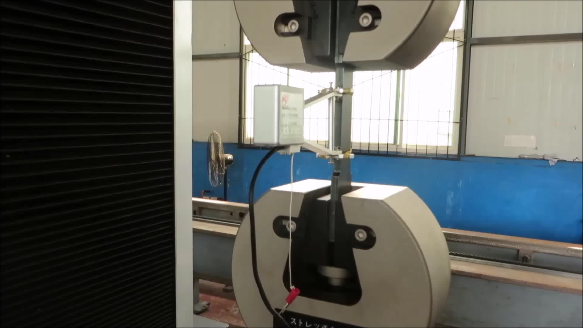WDW-5 5kN พลาสติกยางการทดสอบแรงดึงเครื่อง