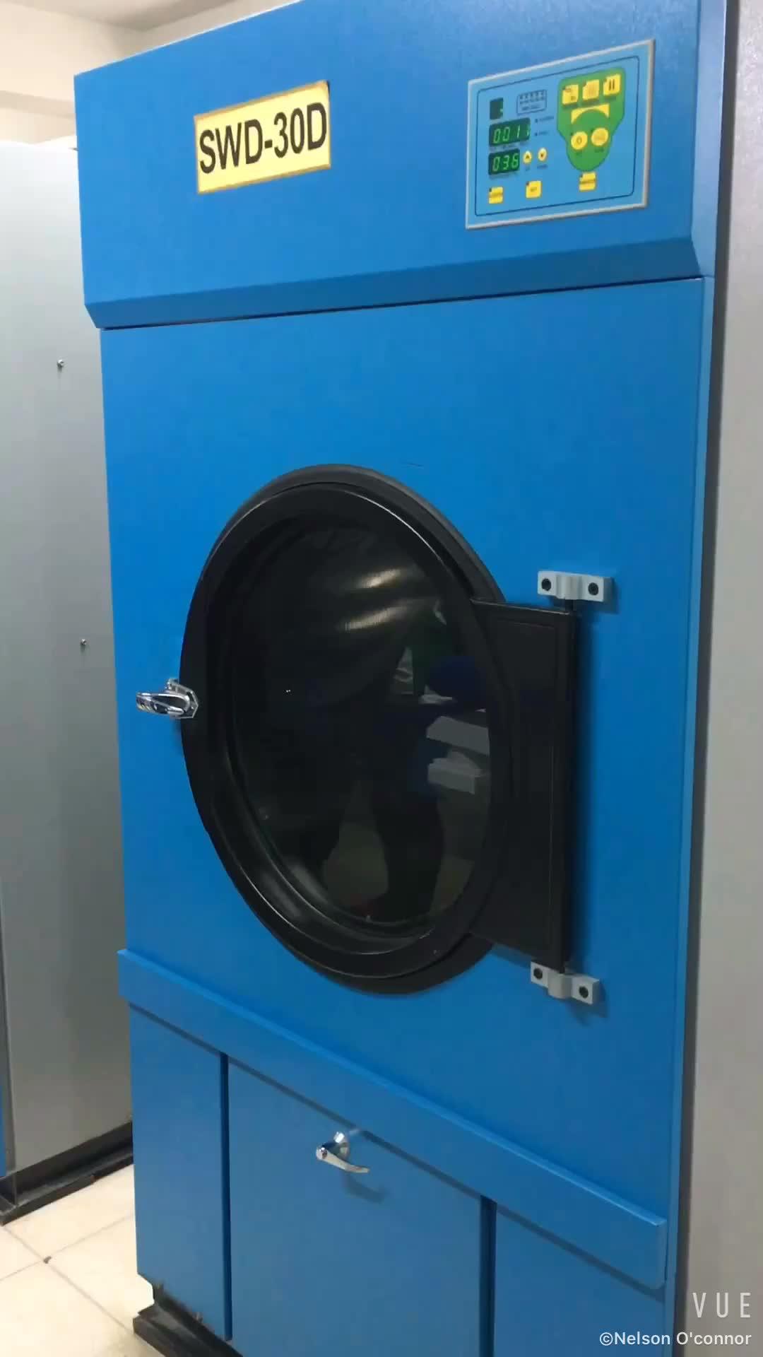 15kg LPG / LNG dryer machine for laundry shop