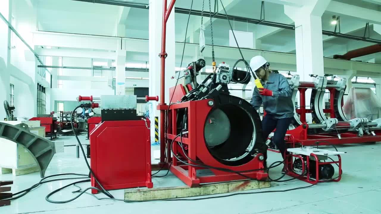 SHD1000 HDPE pipe welding machine