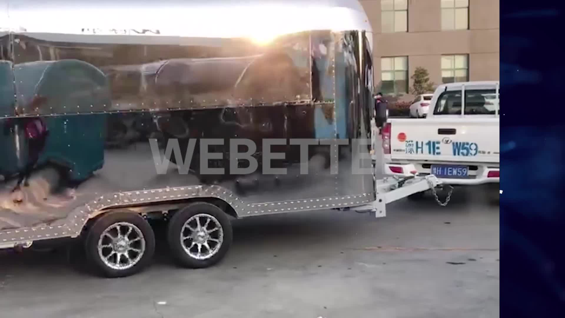 Airtream Food Truck Ec Type Approval Catering Trailers Burger Food Van Coffee Bar Buy Airtream Food Truck Catering Trailers Food Van Product On Alibaba Com