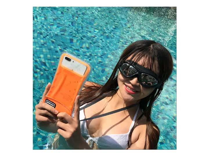 2019 Universal Floating Waterproof Phone Pouch, Cellphone Dry Bag Pouch for 6.3Inch below