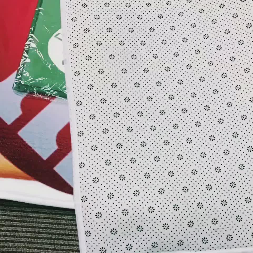 Personalizado antideslizante alfombra al aire libre personalizado impreso felpudo Dropshipping. exclusivo.