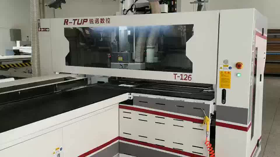 T-126 cnc wood horizontal/multi  boring machine  for 5 sides