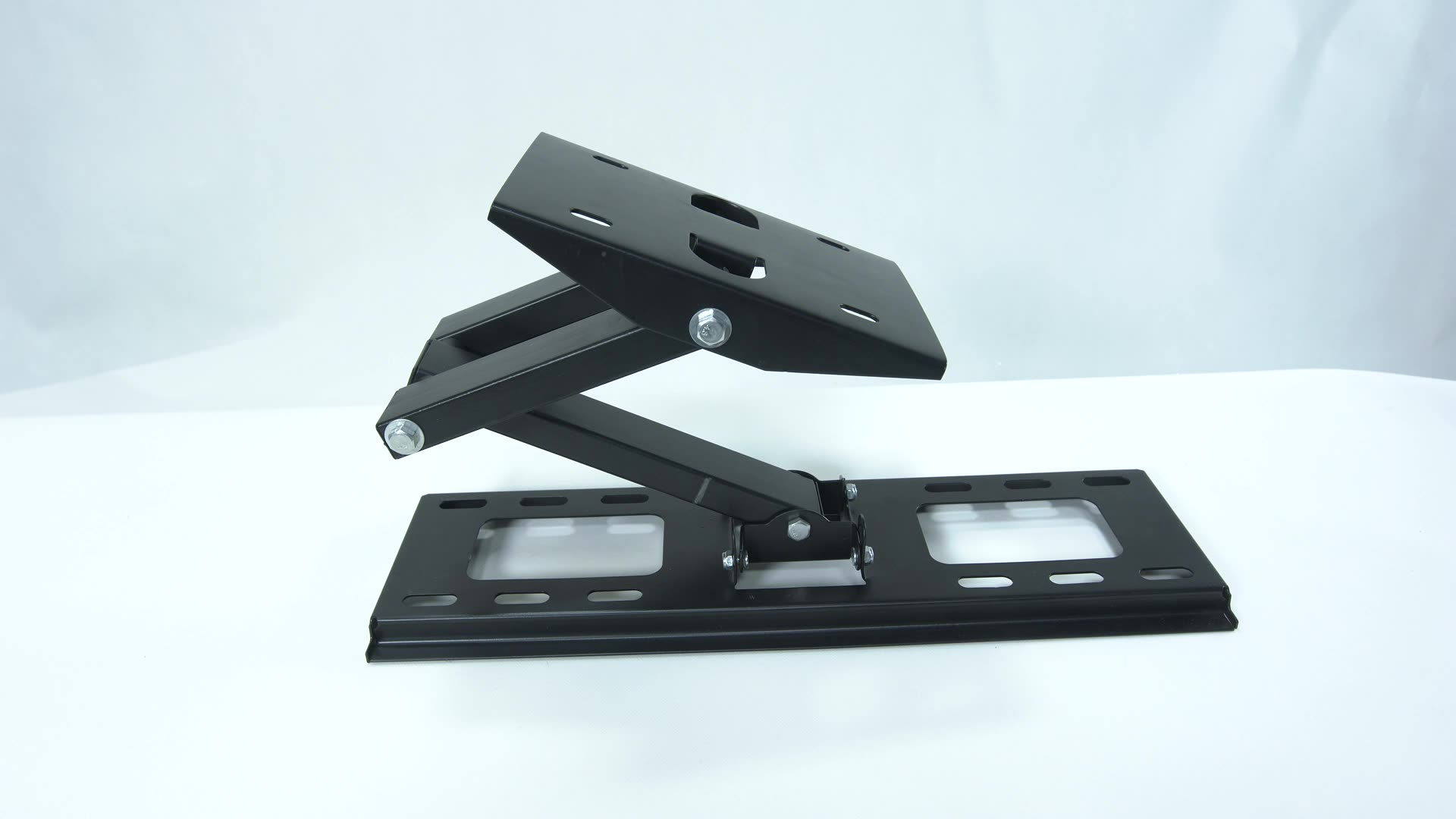 China Fabrikant Enkele Arm Full Motion Tv Muurbeugel Gemonteerd Voor 32-52 Inch