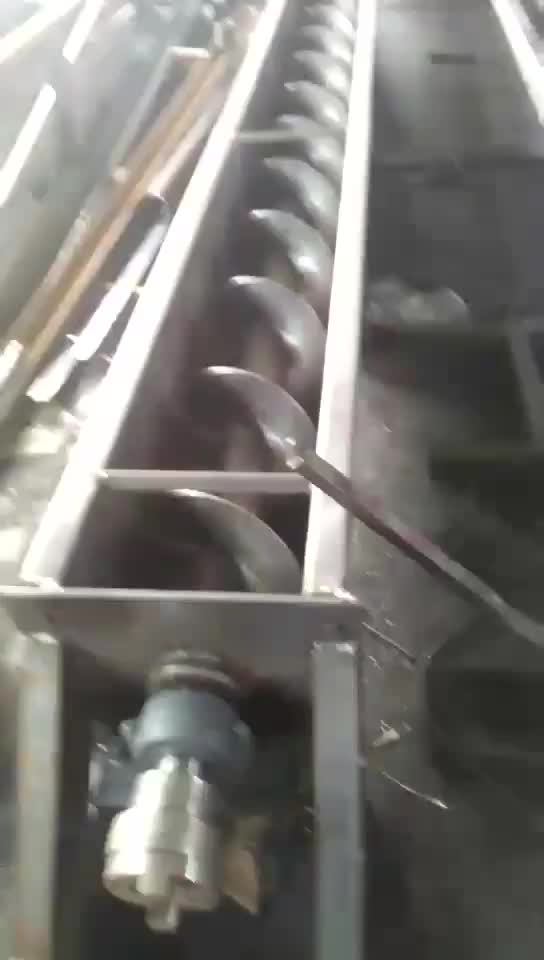 New arrival jacket cooling screw conveyor system inclined belt with cheap price