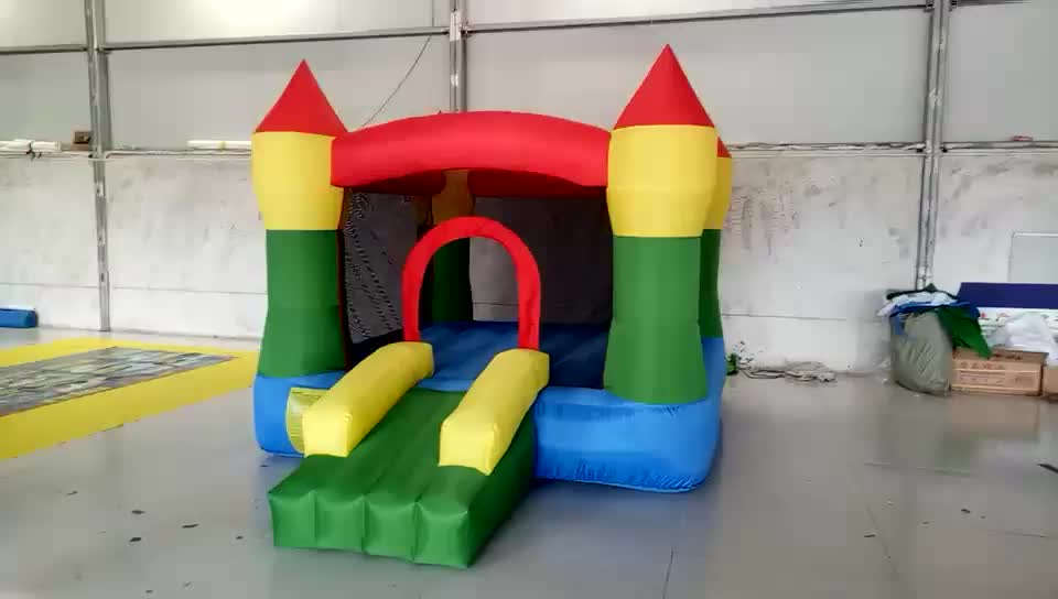 2019 new jumping inflatable castle slide / inflatable bouncer castle / inflatable trampoline cheap sale