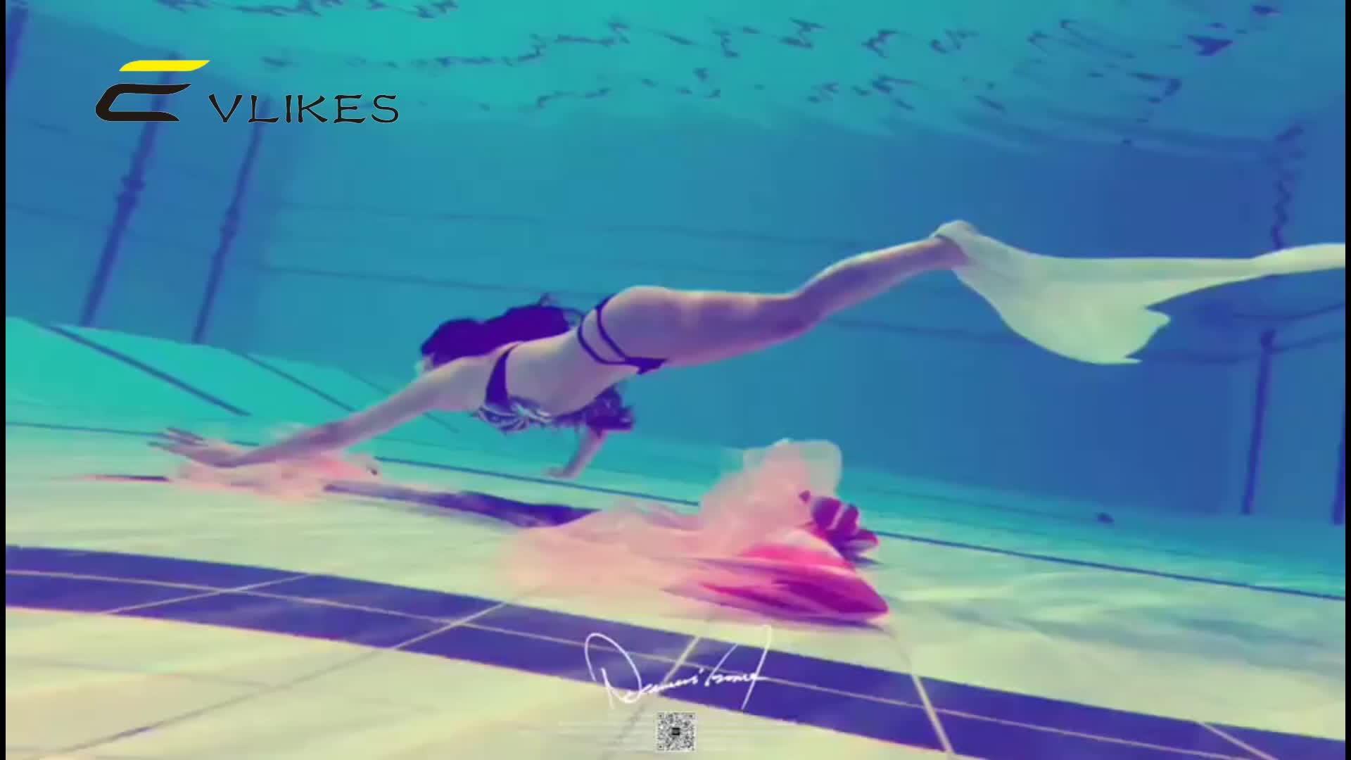 2020 アマゾンの新マーメイド水泳フィン子供のため、改善されたストラップ水着と Monofin 、マーメイド水泳フィン