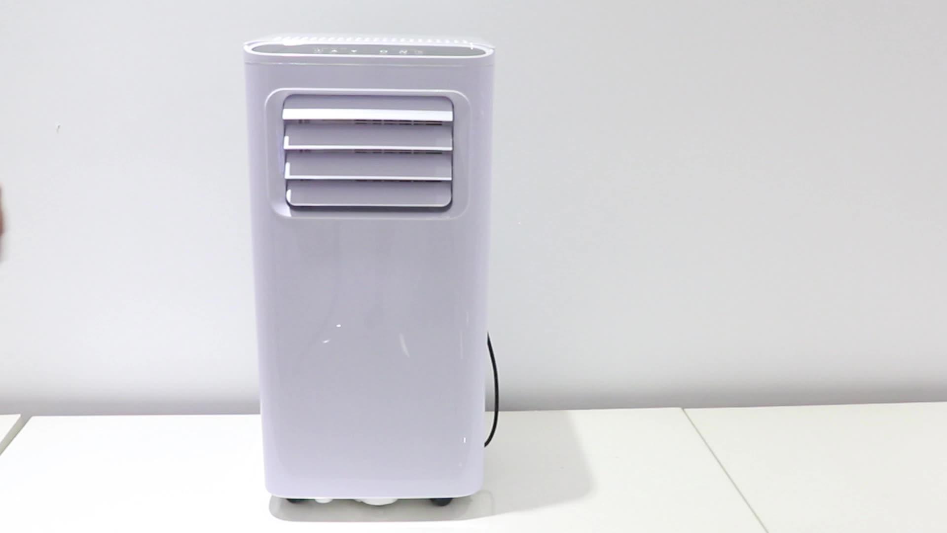สไตล์ใหม่R410/R290 5000-9000BTUสำหรับตัวเลือกแบบพกพาเครื่องปรับอากาศ1ผู้ซื้อ