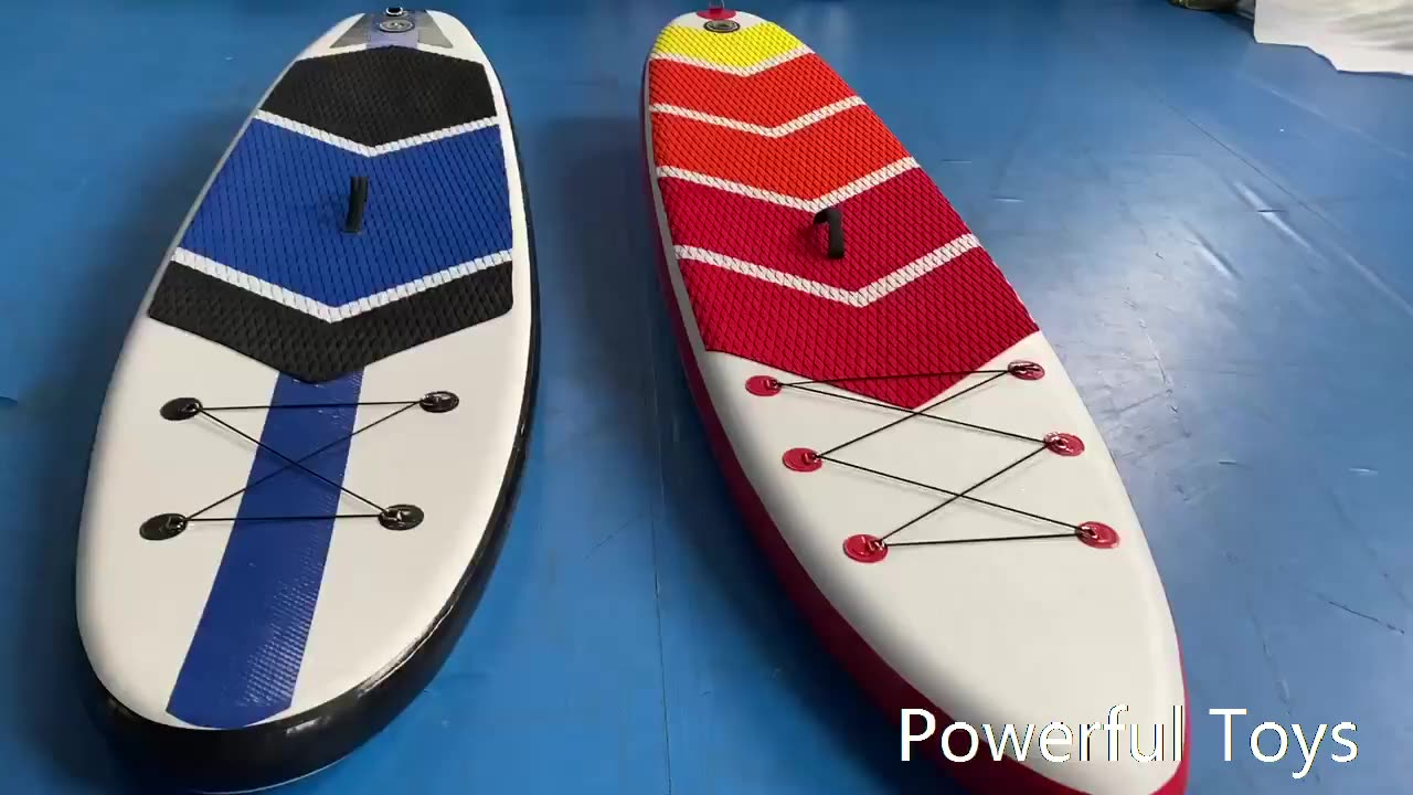 New High quality Professional inflatable stand up paddle surfing board