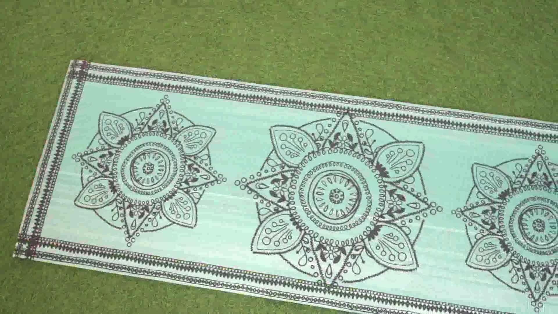 Wholesale Natural Custom Label PVC OEM Yoga Mat