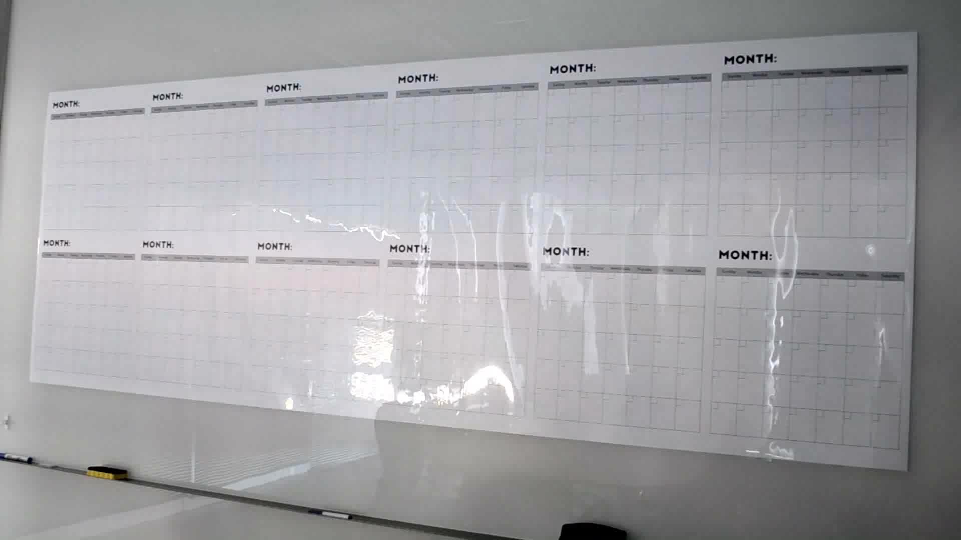 Kalender Dinding 365 Tahun Kalender Kering Premium Cetak Kalender Dinding Tahunan 2020 013-01-3B1