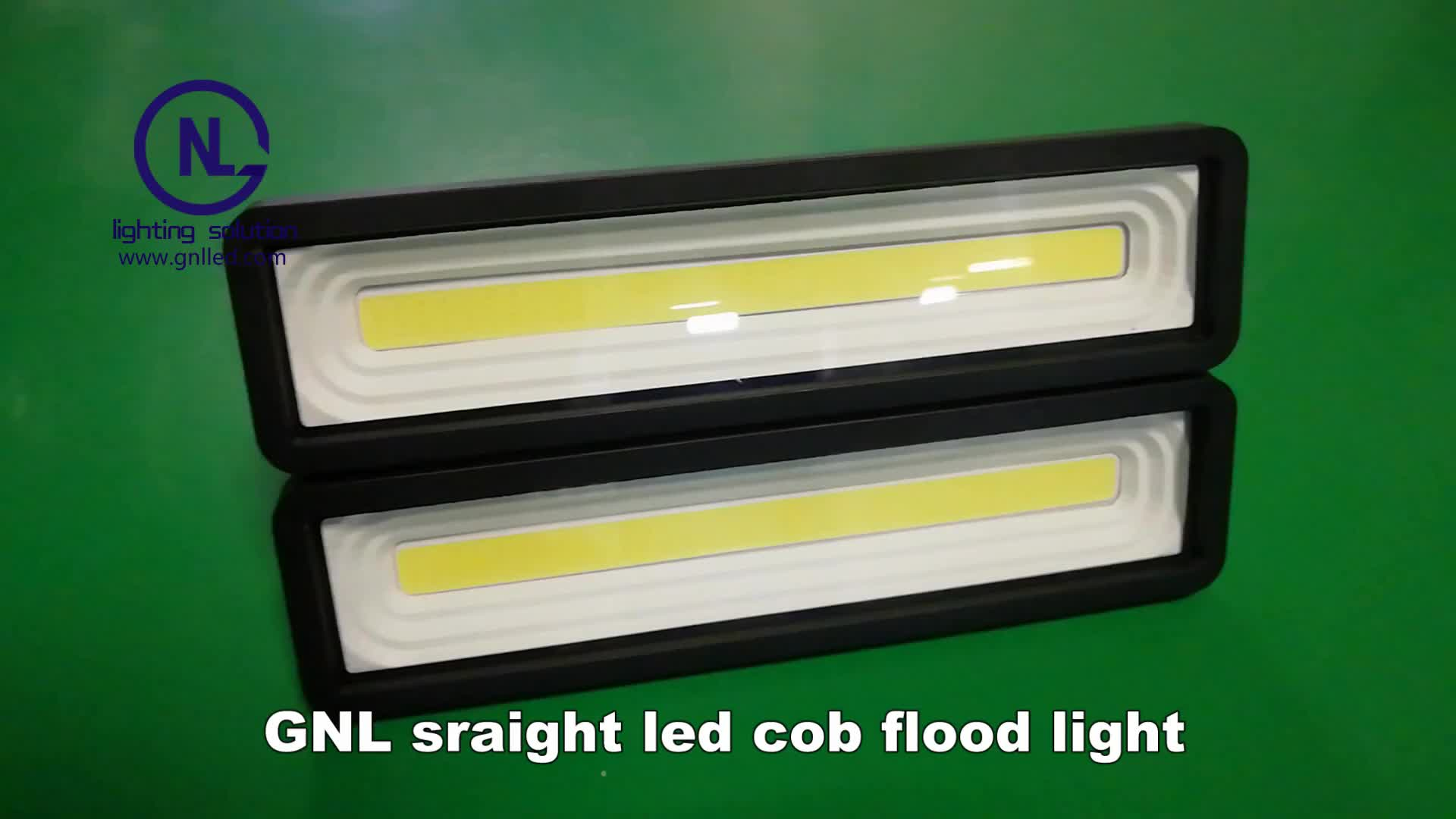 GNL aluminum alloy bright led cob flood light outdoor bulb replacement 50w