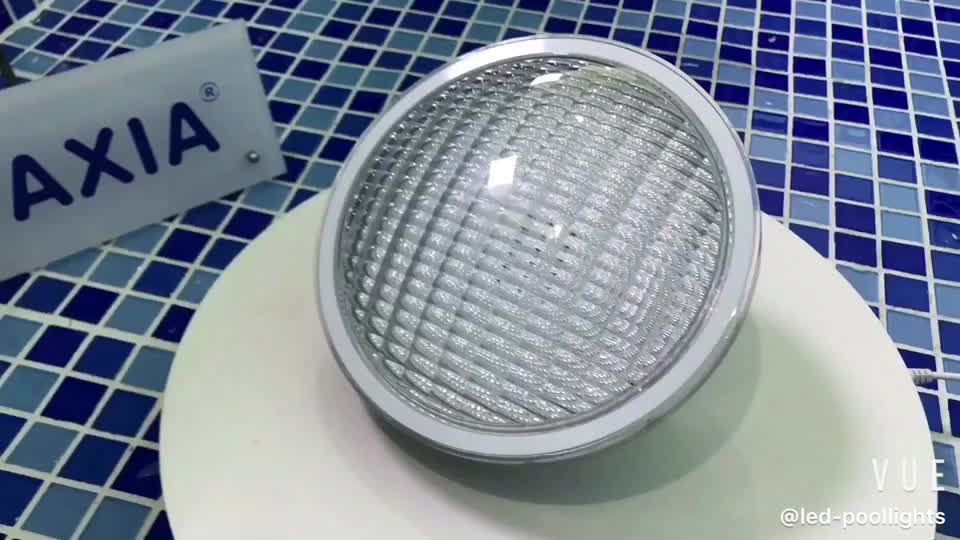 300W Replacement IP68 RGB 12V Underwater Light Par56 Led Pool Light with 2 Years Warranty