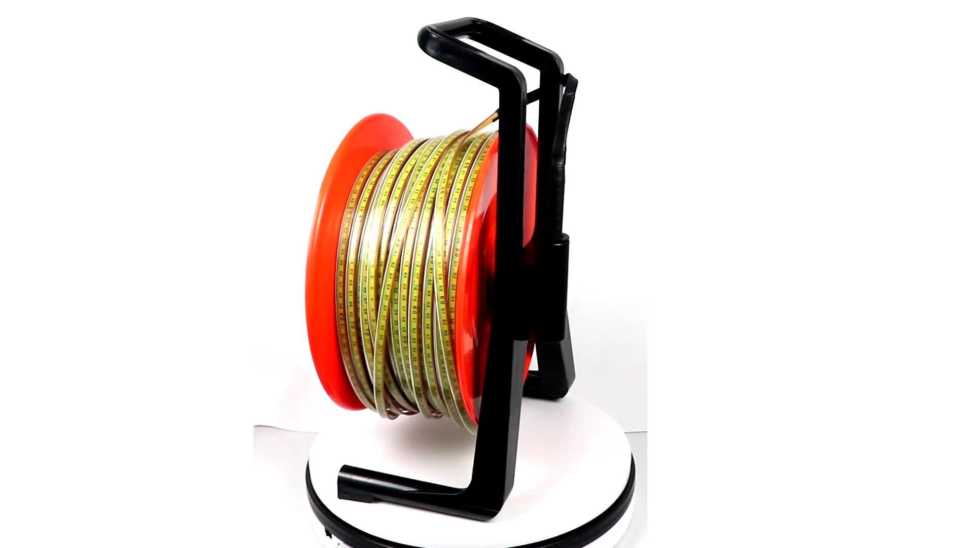 50 m/100 m/200 m/500 m acciaio inox righello meter ben suono misuratore di livello di acqua di profondità trasmettitore di livello