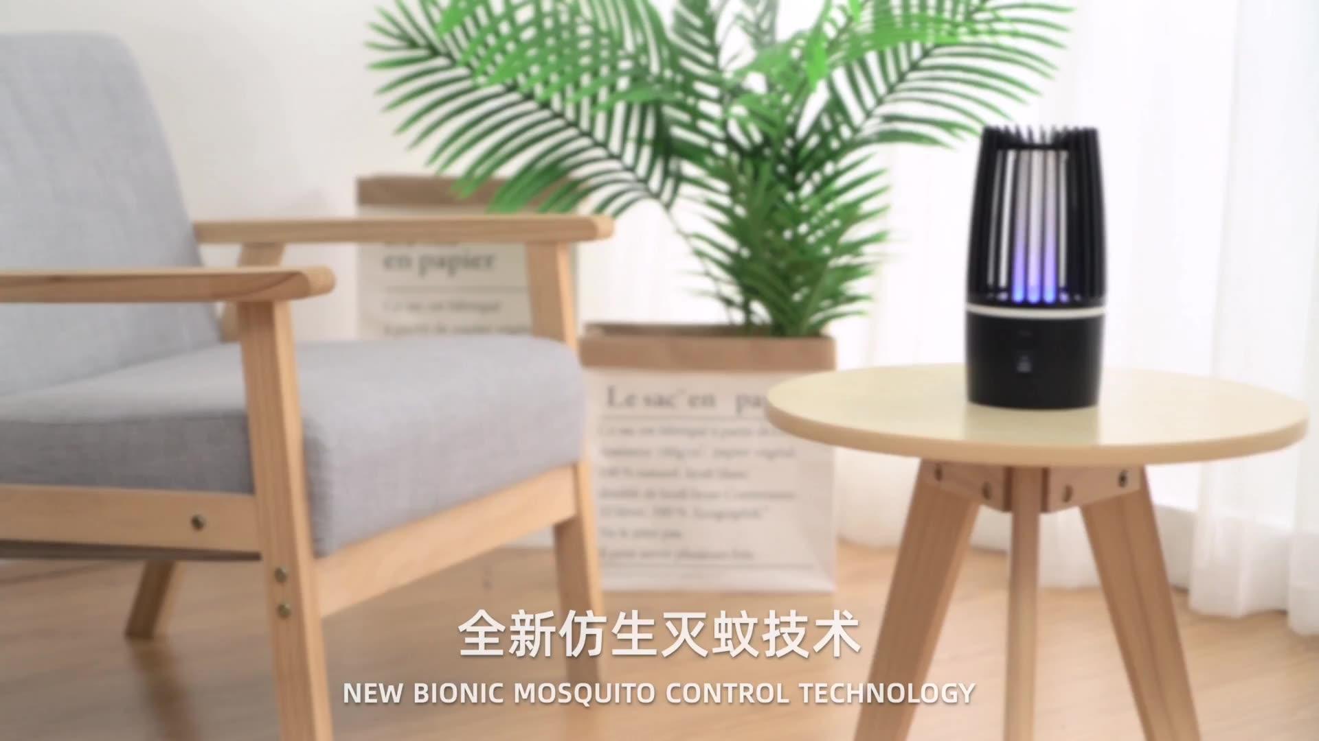 Oplaadbare Usb Outdoor Muggenval Uv Bug Muggen Killer Uv Licht Lamp