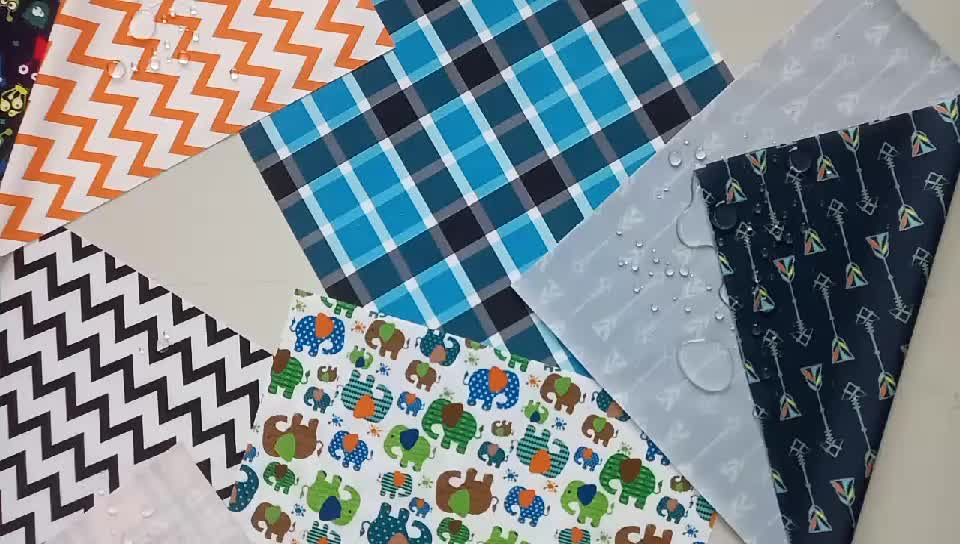waterproof pul fabric