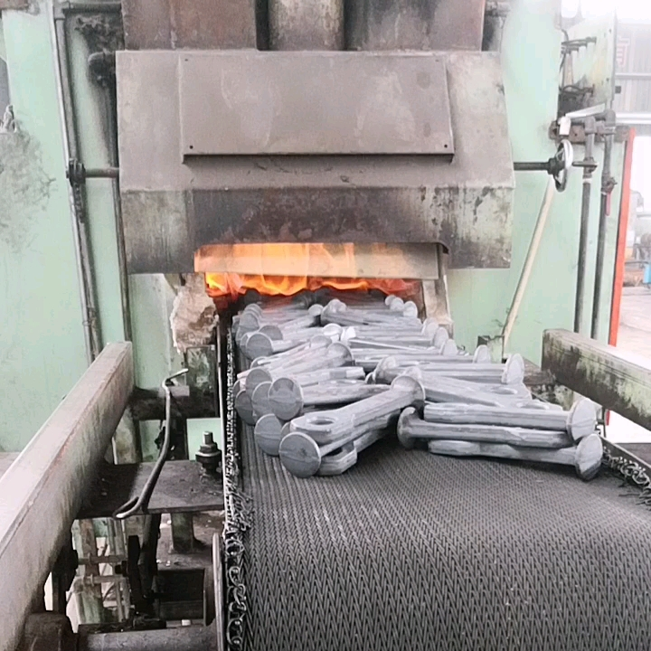 Drop forged chain conveyor parts for transmission