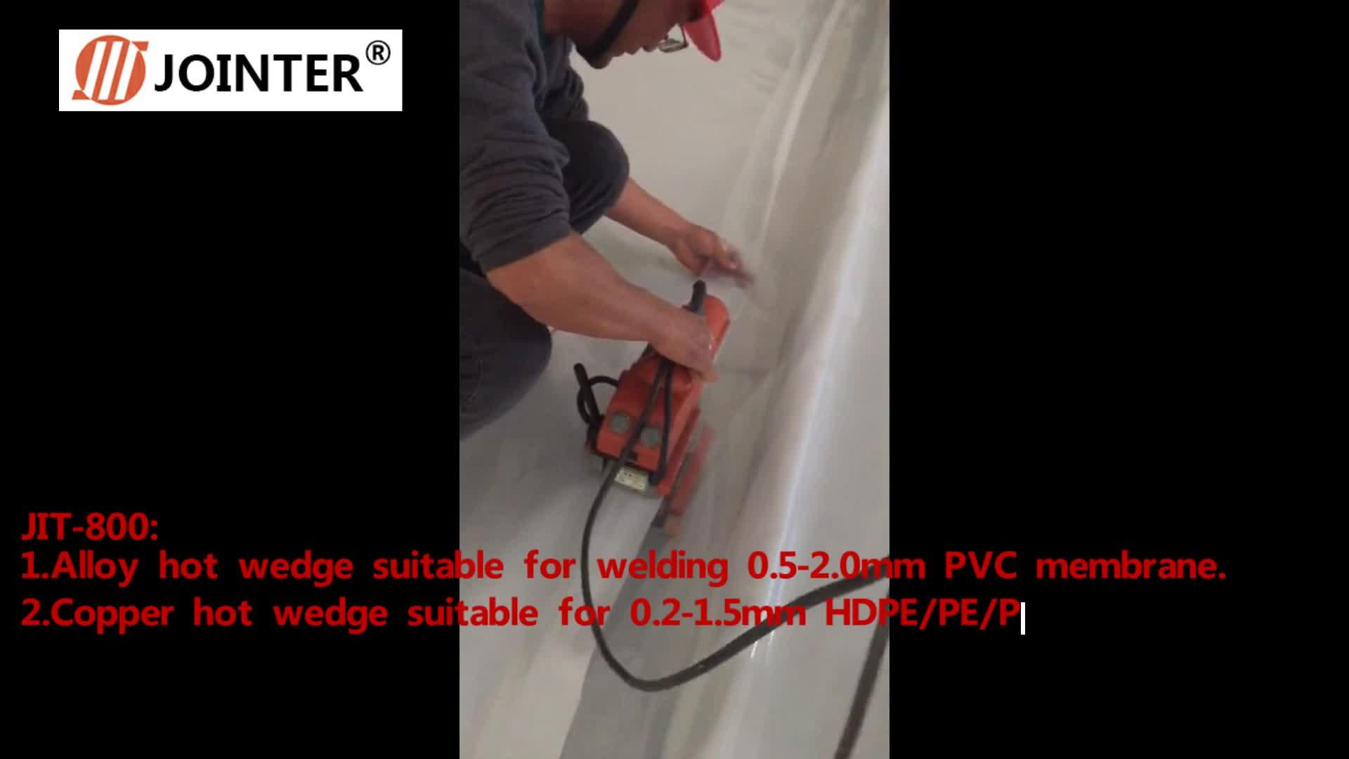 High Power Electronic Welder ARC Welding Machine Geomembrane Hot Wedge Welder