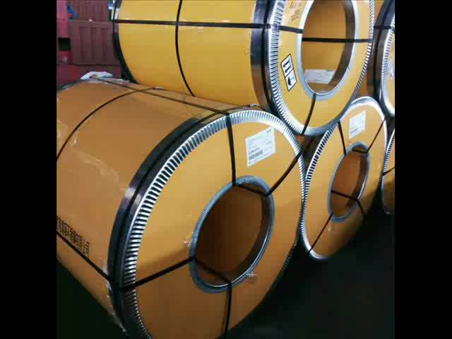 Hot Roll 2b 201 202 Cr SS Stainless Steel Coil dengan PVC Coating