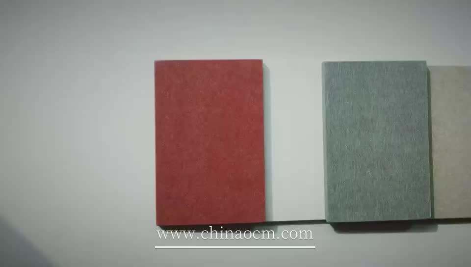 12mm Gekleurde slijtvaste schuren Fiber Cement Board Prijs