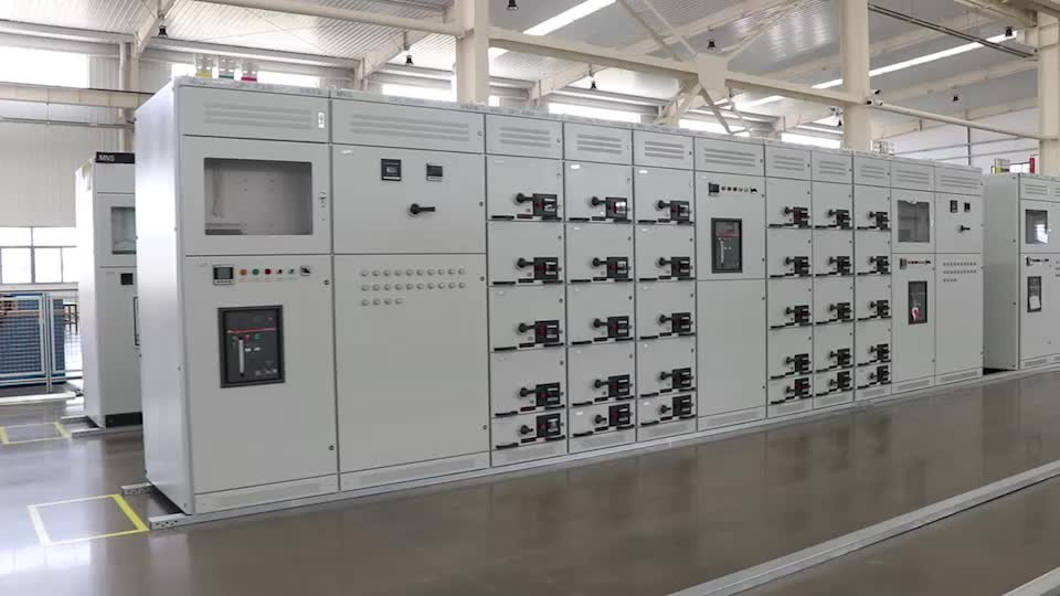 MNS 400V Low Voltage Withdrawable Power Distribution Switchgear