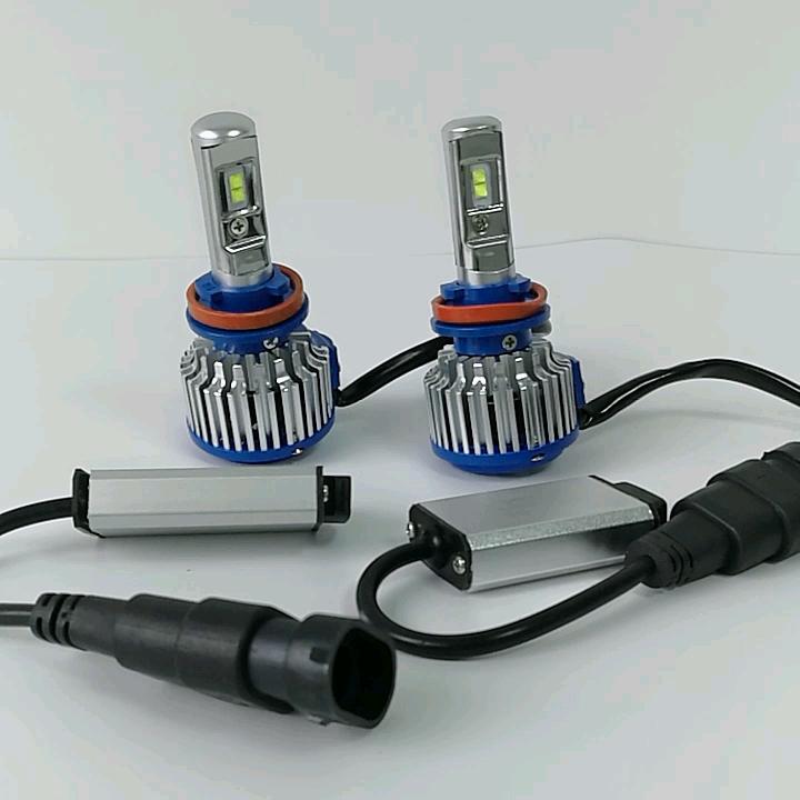 2018 Neues Produkt Turbo T1 LED mit Canbus für alle H7 H11 H13 9005 LED Scheinwerferlampen