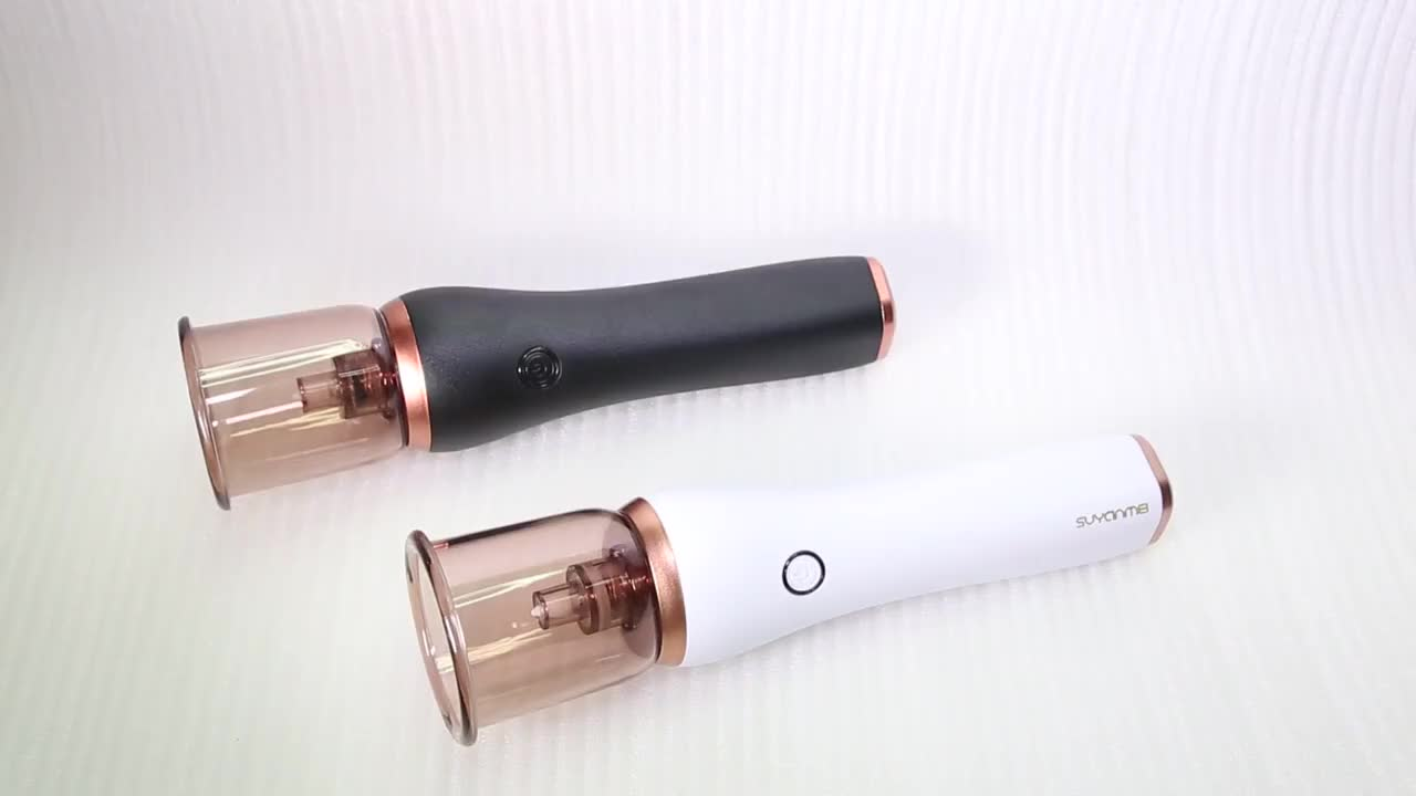 2019 Hot Selling Rechargeable Face Heated And Cool Blackhead Remover Vacuum