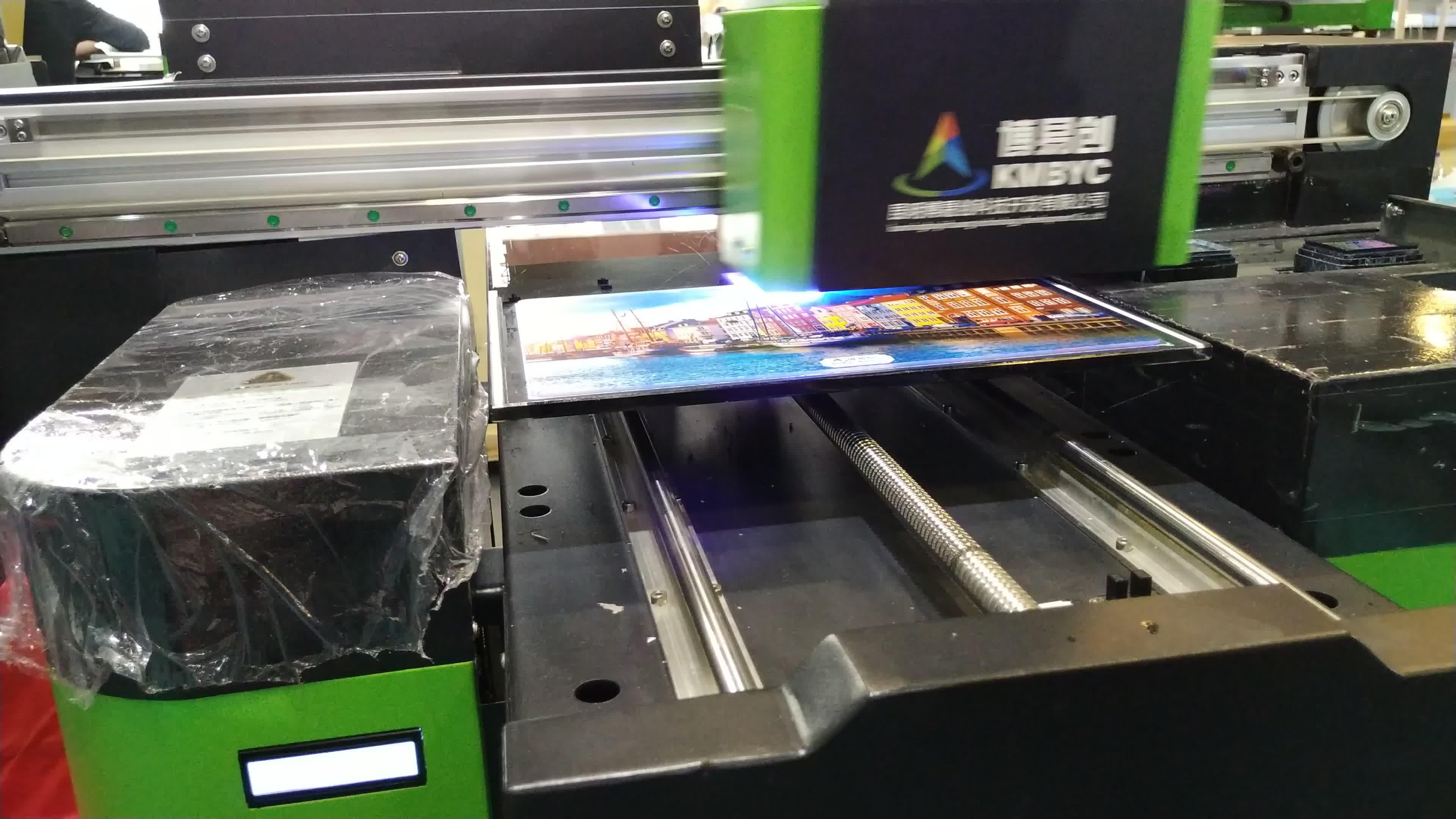A3 UV 프린터 모든 사이드 디지털 잉크젯 전화 케이스 A4 USB 카드 나무 3D 양각 인쇄 프린터