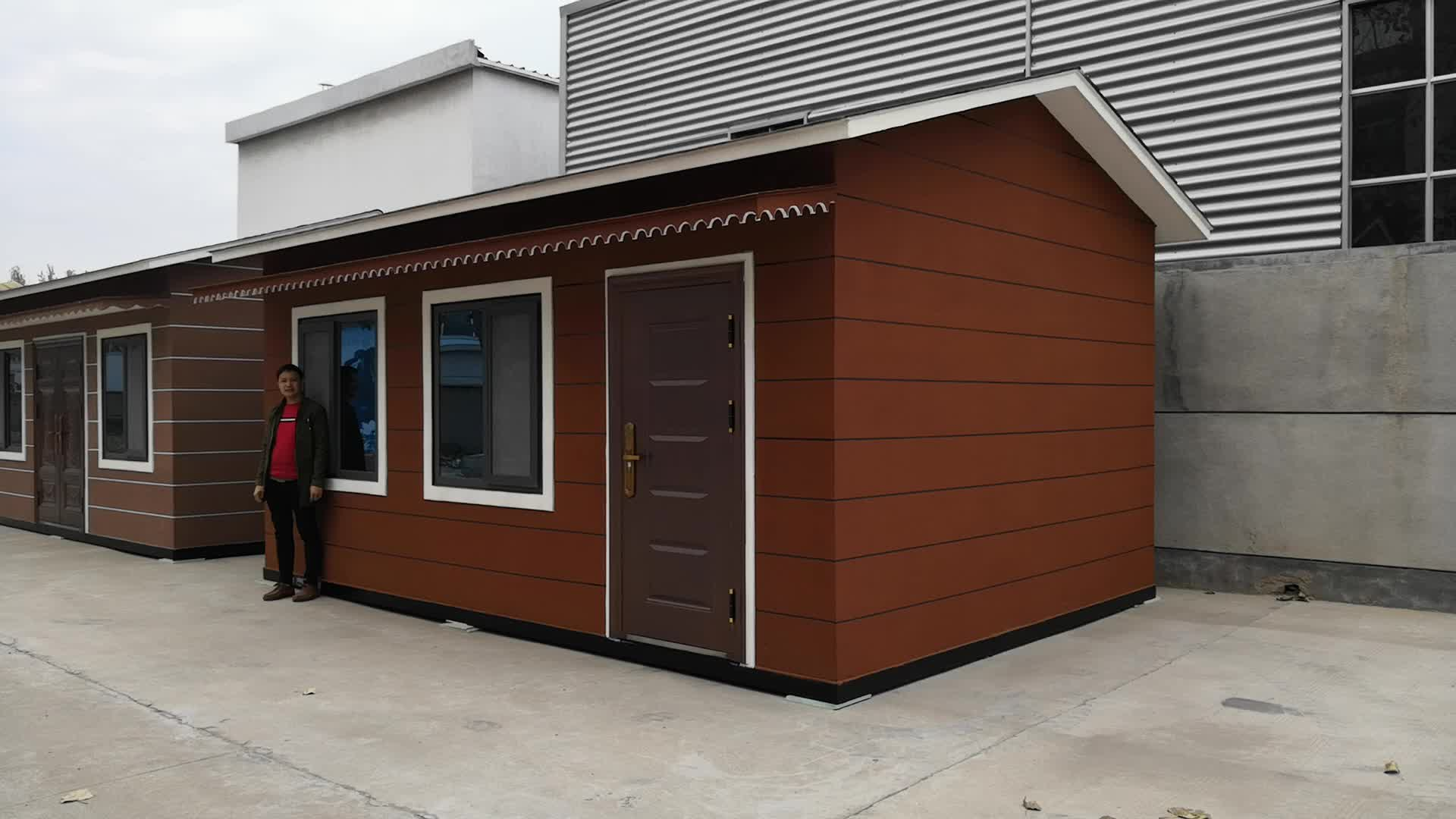 Easy Build Homes Prefab Houses Made In China
