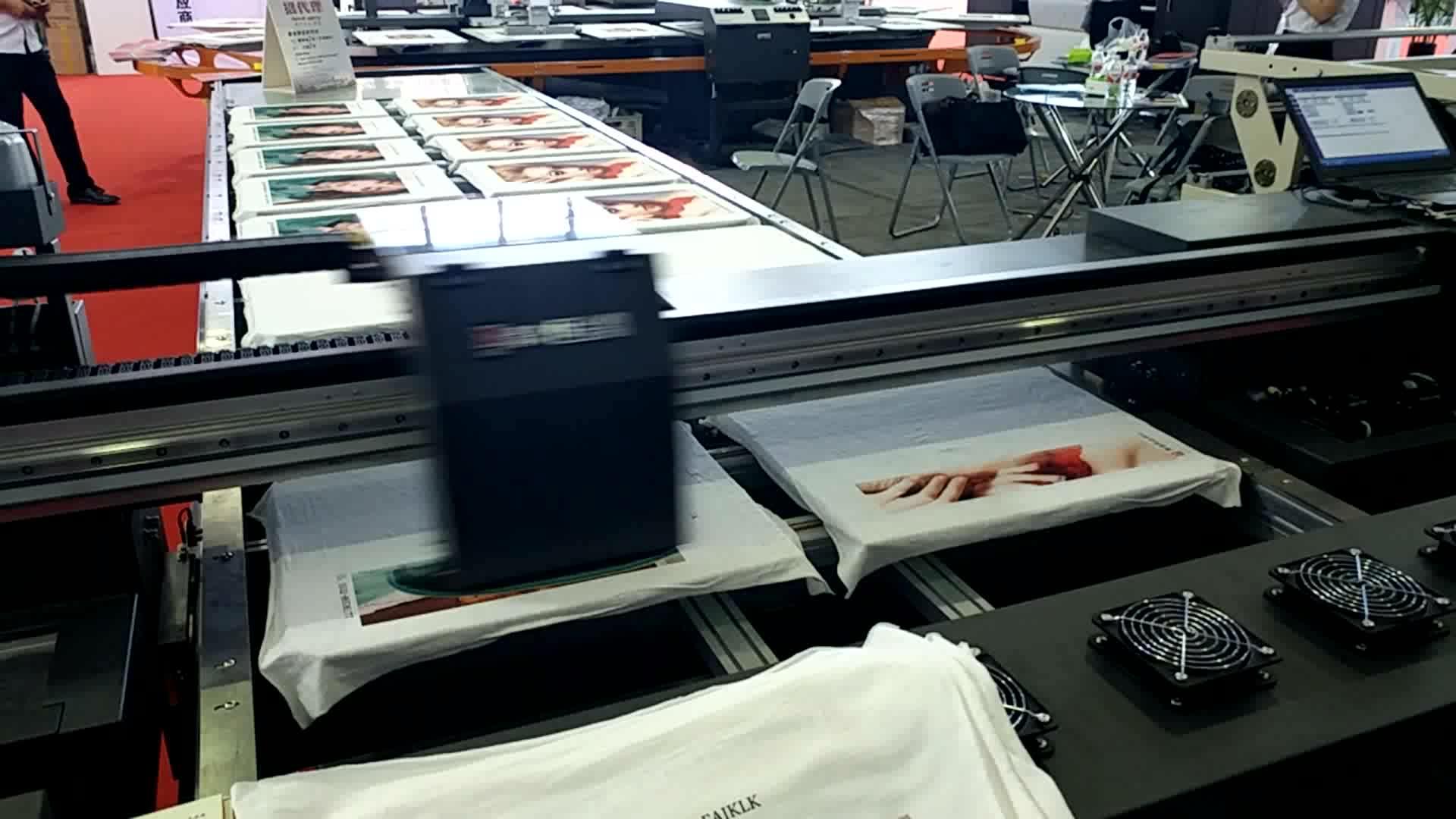 digital textile belt  printing machine