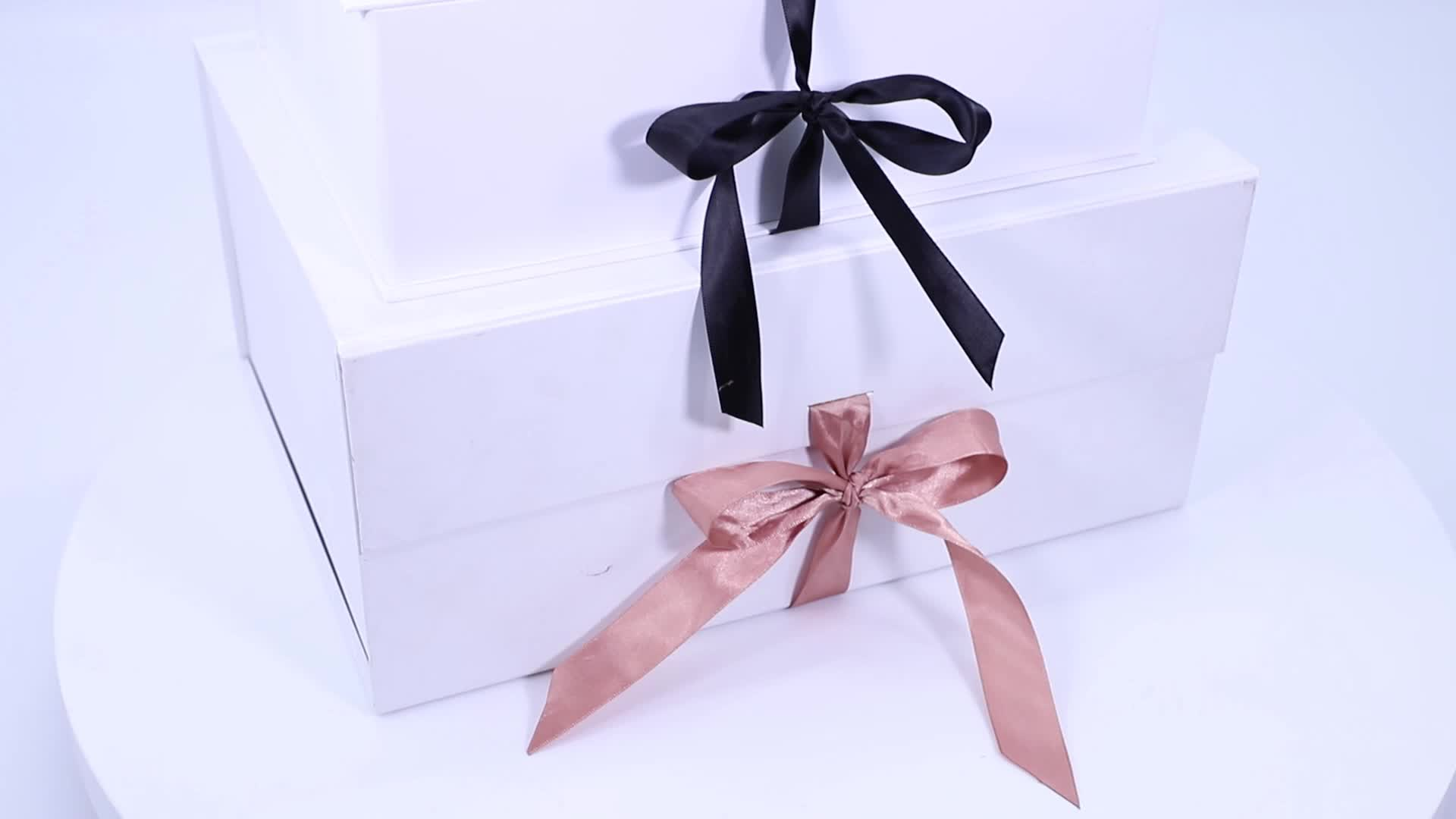 Fashional white rectangle gift shoe boxes with clear lids