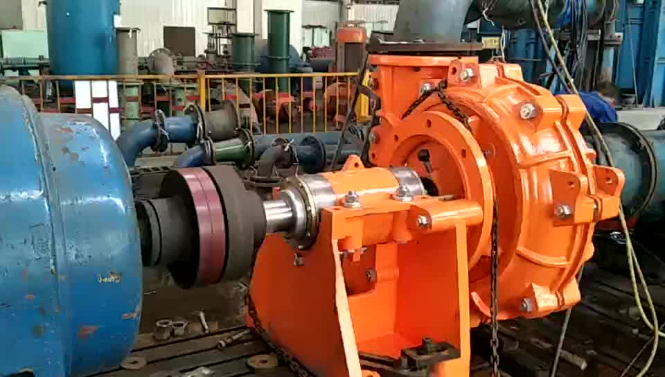 China ShiJiaZhuang Super High Quality Horizontal Slurry Pump Horizontal Mining industry